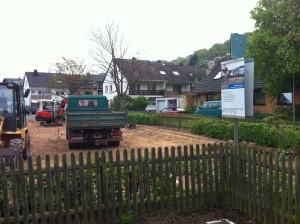Baumaßnahme Neugestaltung Spielplatz Johannisstraße Februar bis Mai 2014