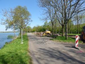 Baumaßnahme Moselufergestaltung vom April bis Dezember 2015