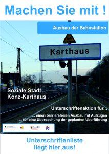 2016.01.28_Unterschriftenaktion Bahnstation Karthaus