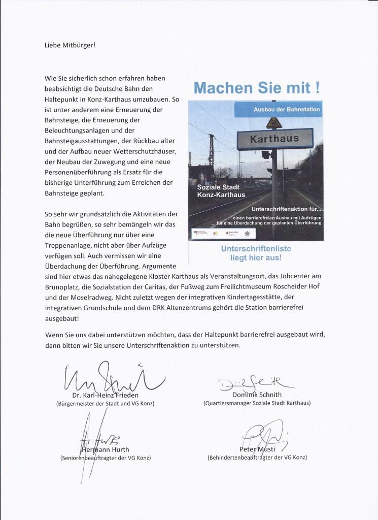 2016.02.10. Aufruf zur Beteiligung mit Unterschriften