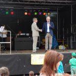 Auch Bürgermeister Dr. Frieden gehörte zu den Gratulanten.