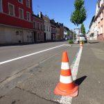 2016.06.23. Aufbringen der Parkmarkierung (2)