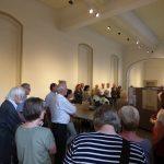 Großes Interesse fand die Ausstellungseröffnung.