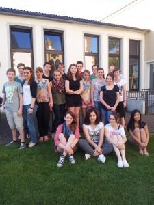 Die Karthäuser Aktionsgruppe zur 72-Stunden-Aktion vom 13. bis 16. Juni.