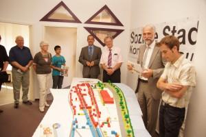 Eröffnung des Stadtteilbüros am 30. Mai 2012