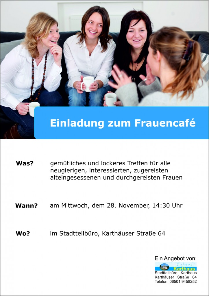Frauencafé 28.11.2012