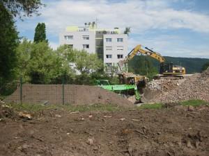 Vor zwei Jahren startete der Abriss des alten Kitagebäudes.