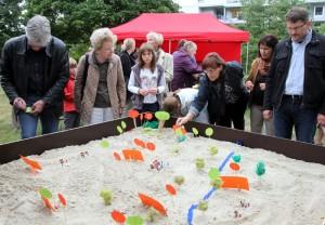 Beteiligungsaktion im Klosterpark am 14.09.2012