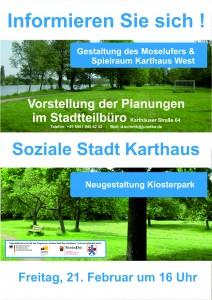 Infoveranstaltung Moselufer und Klosterpark 21.02.2014_Kurven