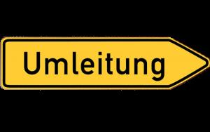 Umleitung